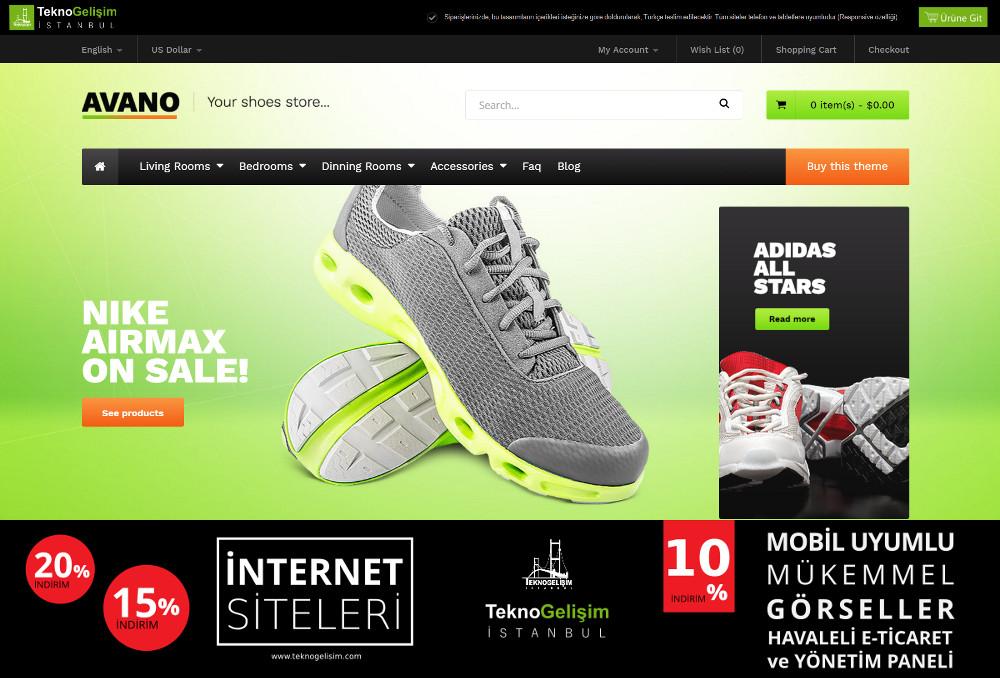 E-Ticaret Sitesi Sektöre Özel Tasarım 39