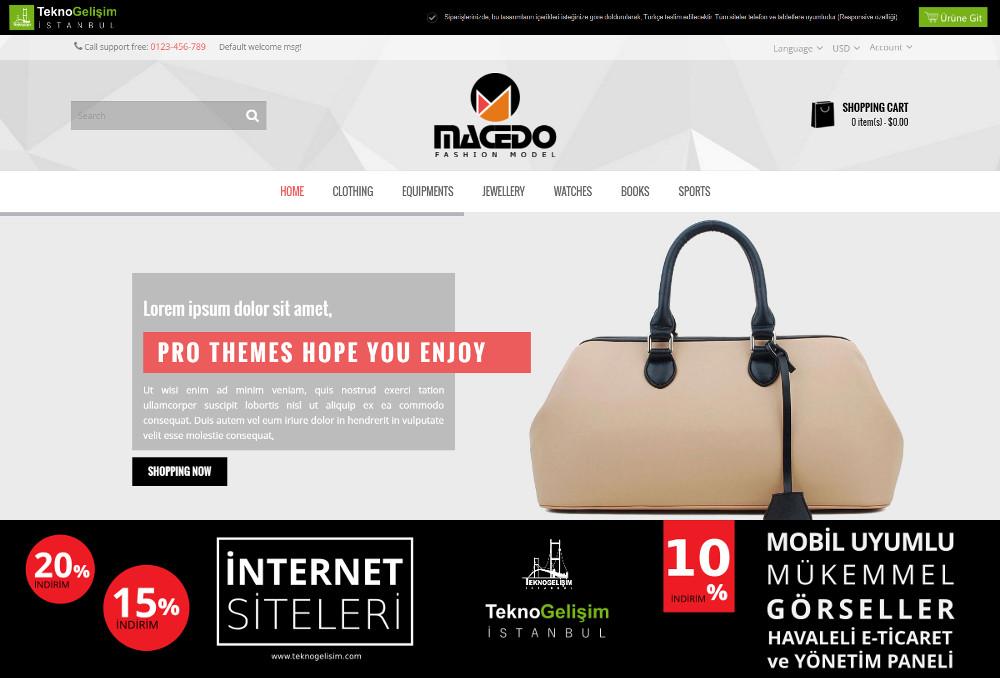 E-Ticaret Sitesi Sektöre Özel Tasarım 40