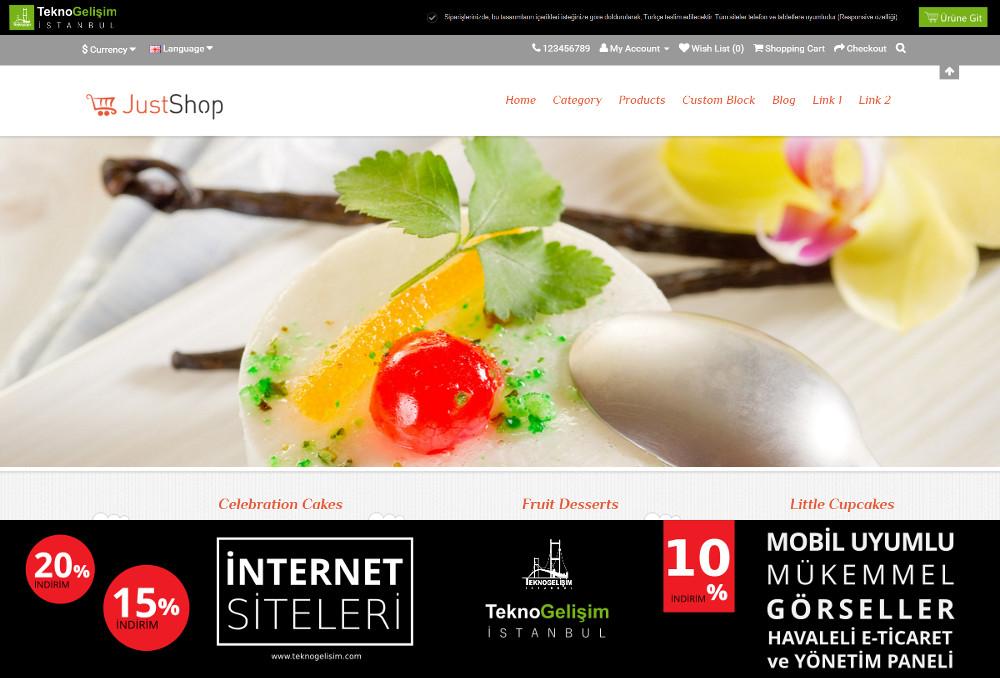 E-Ticaret Sitesi Sektöre Özel Tasarım 43