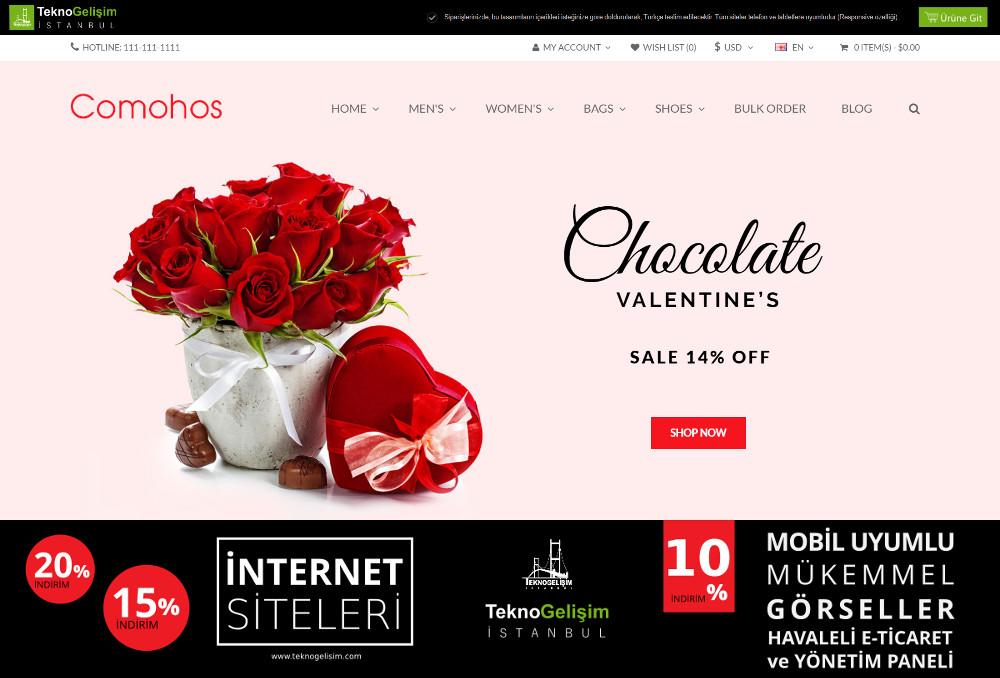 E-Ticaret Sitesi Estetik Tasarım 25