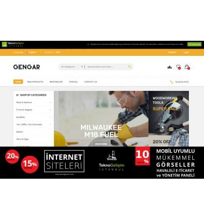 E-Ticaret Sitesi Sektöre Özel Tasarım 90